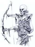 Undead Archer by ghostfire