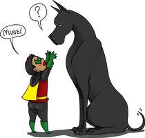 Damian and Titus by alshshaen