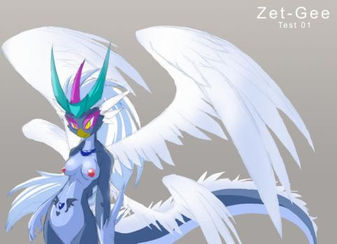 Zet Gee  Test One by ChaloDillo