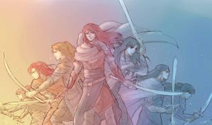 Sons of Feanor by MintKim