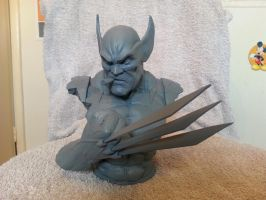 Wolverine bust all cast up by logan250