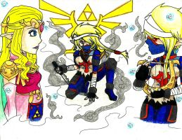 Zelda/Sheik- Gift by Ashes-fall-down