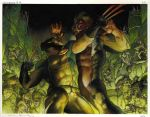 wolverine 311: double page spread 2 and 3 by simonebianchi