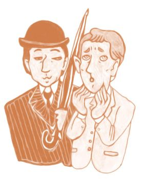 Jeeves and Wooster take 2. by jossujb