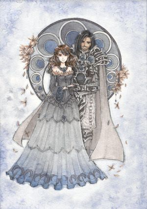 Princess Nyxena and Lord Thanatos