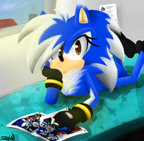 Ohai! Wanna read comics with me? by shadzter