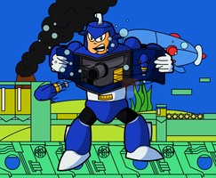 Dive Man 2 Background by codster76
