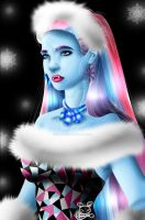 Monster High: Realistic Abbey Bominable by NemoTurunen