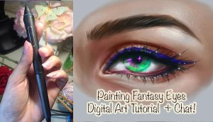 Fantasy Eyes tutorial  Colors, Blending, Concept by Amourinette