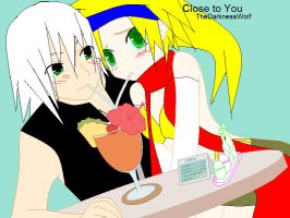 riku and rikku drinkin by rikuxrikku4ever