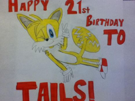 Happy Birthday, Tails!!!! by tailsthefoxlover715
