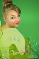 Tinkerbell, beautiful fairy from Peter Pan by chamellephoto