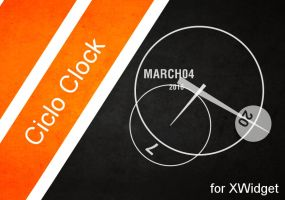 Ciclo Clock for xwidget by Jimking