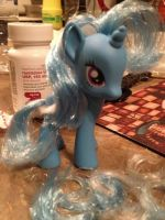 Trixie, First Pony Haircut by StormyTheTrooper