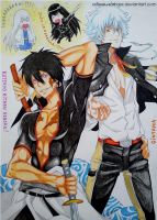 Reborn! x Gintama Xanxus and Gintoki by xxBossu-samaxx