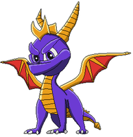 Spyro The Dragon by Somcothehedgehog