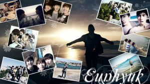 Eunhyuk's holiday pictures by ForeverK-PoPFan