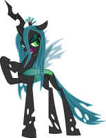 Queen Chrysalis (Vector) by TwilightSpark2112