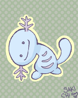 Wooper by SakiChiRocks