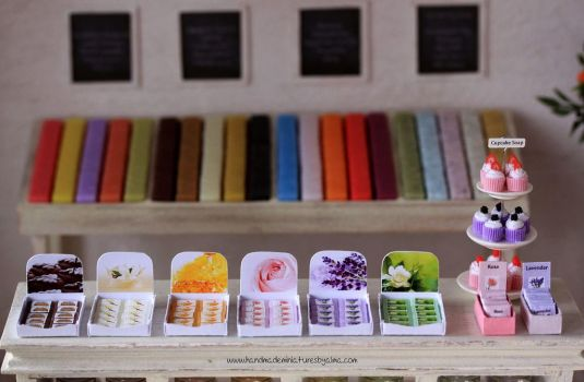1:12 scale Scented Soaps by Almadejonge