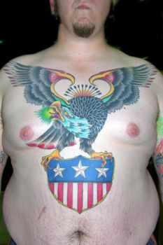 Patriotic Chest Piece by davetedder
