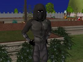 MK9 Noob Saibot The Sims 2 by HollowBerserk