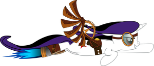 [Gift] Jane the steampunk pegasus by ZsolnayM