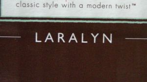 Laralyn on a product box :-) by NamesAndSuch