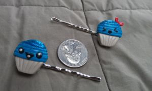 BlueBerry Babies Bobby Pin Set by Gynecology