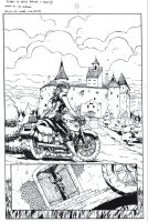 Return to Castle Dracula pg1 by PeterPalmiotti