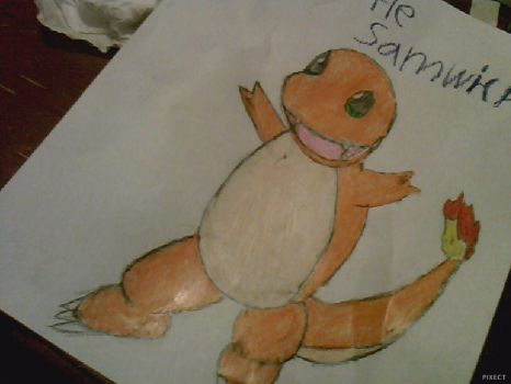 Charmander by TurtleSamwich