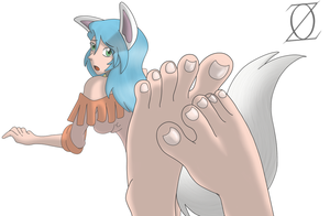 Kathica's feet (Collab) by gear25