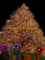 Happy Holidays TMNTart by tmntart