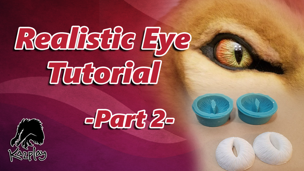 Eye tutorial Part 2 How to make a mold and cast by Kazulgfox