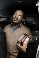 Martin Luther King II - History - PartiallyColored by MadSDesignz