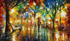 Mood by Leonid Afremov by Leonidafremov