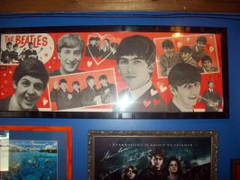 Show the Beatle love poster by CuteKana