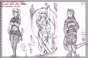 sketch compilations 1 by MONSTA-E