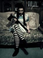 Halloween Alice Cosplay by TheLadyButterfly