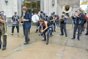 2014 Honk Festival, Chaotic Noise 23 by Miss-Tbones