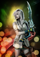 Final Fantasy - Lightning by ThomasRome