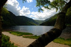 Summer in Glendalough Ireland by LeeLaForge