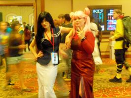 Black Lady and Mistress 9 by Jovianwolfgirl