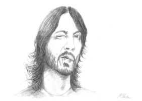 Dave Grohl by MArt120