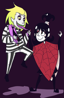 BEETLEJUICE by heartlesstheif