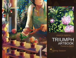Triumph artbook-preview--paperbirds by depinz