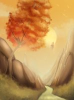 Point Nemo - Autumn Mountains by x-Nekopunch-x