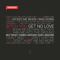 Eminem feat. Lil Wayne No Love by bonon14