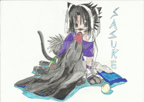 Kitty Sasuke by bloodplusrocks