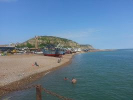 Hastings fishing front by bmhelman